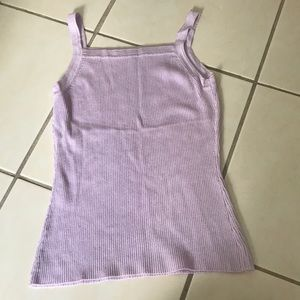 Super Thick Light Purple Top